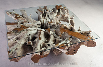 Teak Root Table , Furniture From Teak Roots