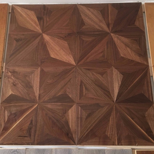 best selling 15mm American Walnut Vintage Parquet solid wood flooring for hall