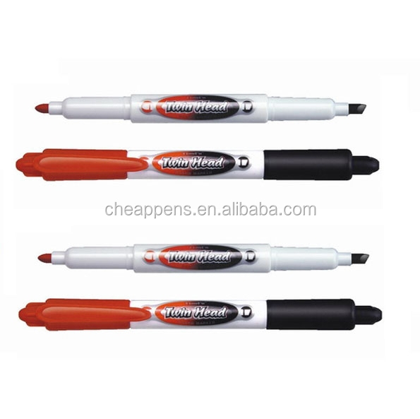 office daily use double head/point jumbo big permanent marker pen