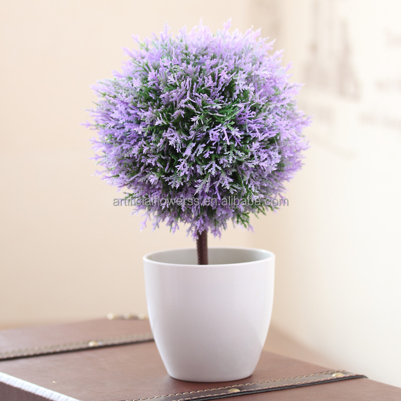 Lifelike Handmade Artificial Potted Plant Plastic Table Small ...