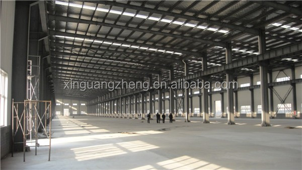 3000sqm large span industrial rice milling workshop