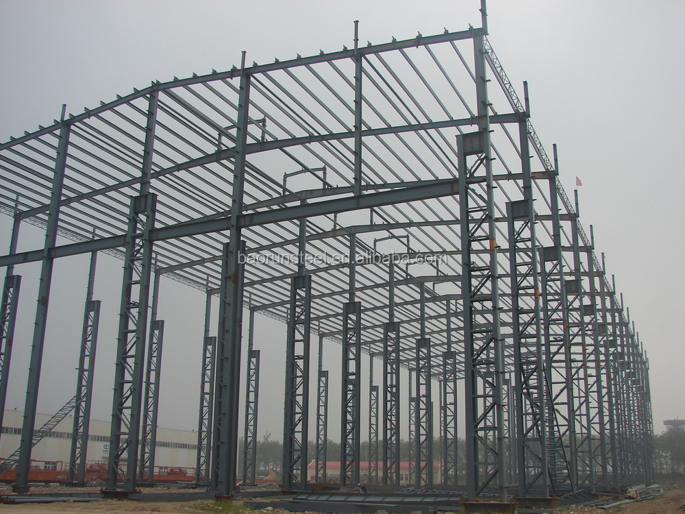 Cheap Steel company prefab steel structrue warehouse