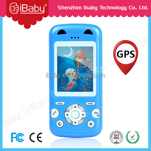 Ibaby promotional sos kids mini cell phone kids emergency cell phone