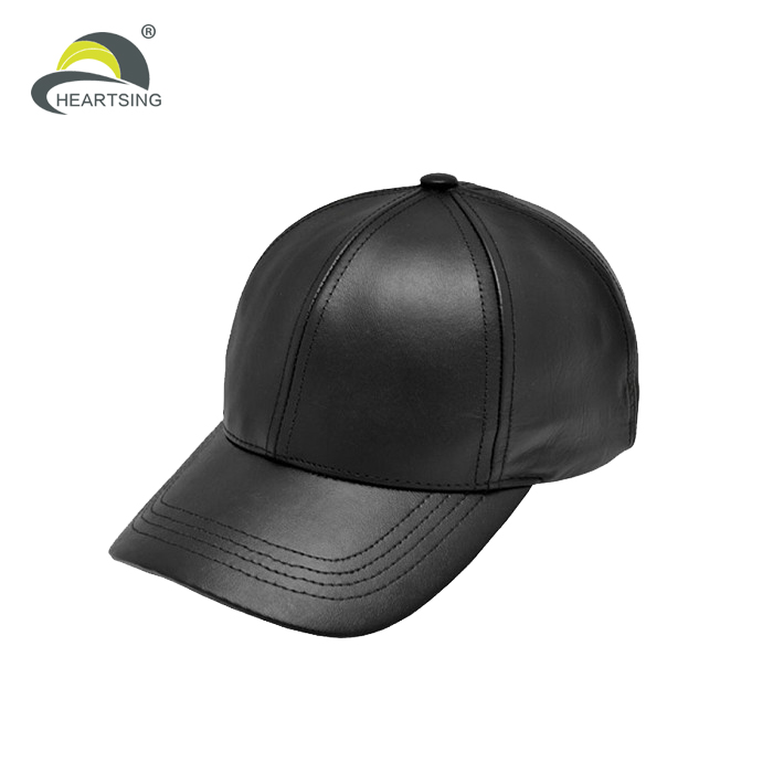 custom blank fitted leather baseball cap new era caps wholesale