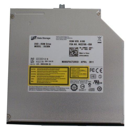 Genuine Dell Hitachi-L 9W2H1, DU30N Data Storage Slim Read 24X SerialATA SATA DVD-ROM DVD-R DC-R CD-ROM 9.5MM Internal Optical Drive Compatible Part Numbers: 9W2H1 Model Number: DU30N, LGE-DMDU30N (B)
