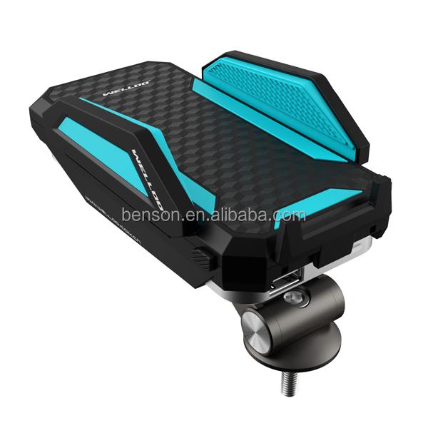 fahrrad handy halterung mit externen portable power bank. Black Bedroom Furniture Sets. Home Design Ideas