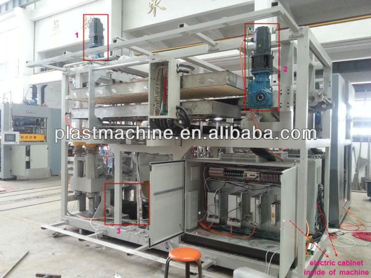 Servo Motor Control Automatic Plastic Cup Making Machine View Plastic
