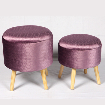 Fine Decorative Wooden Footrest Storage Foot Stool Round Buy Bed Foot Stool Small Storage Stool Wood Small Round Stool Product On Alibaba Com Short Links Chair Design For Home Short Linksinfo