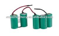 RC toys Ni-MH SC 6V 1200mAh battery pack cleanrance price