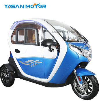 luxury 3 wheel electric scooter car enclosed mobility scooter for passenger  EEC Approval, View three wheel scooter, YABO Product Details from Hangzhou