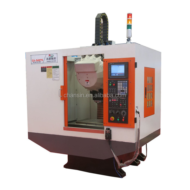 Fast speed high precision cnc vertical drilling tapping milling machine center 3 axis 4 axis 5 axis optional TC-540