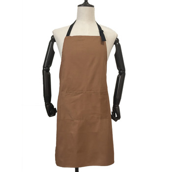 OEM Custom 100% Cotton Apron Coffee Shop Uniforms