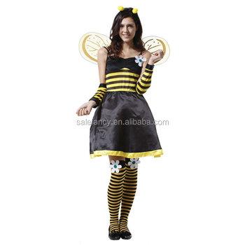 costume Adult halloween bumble bee