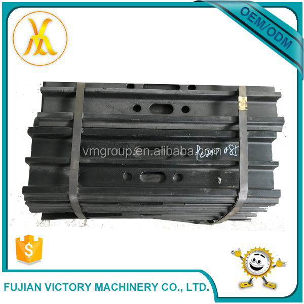 PC200 excavator track shoe for undercarriage parts track chain