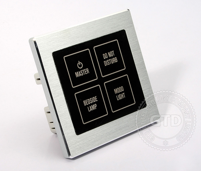 Hotel Rooms Wireless Control System,Wall Switch,Touch Doorbell ...