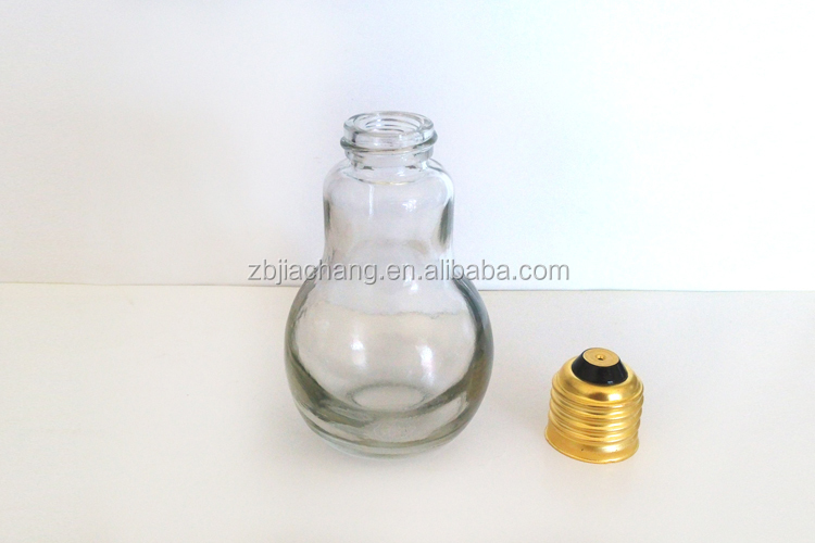 Lampada Barattolo Di Latta : Lampada di forma della lampadina di vetro trasparente bottiglia con