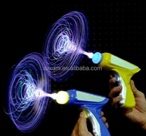 Hot Custom Cool Toys LED Light Up Fiber Optic Space Gun Super Spinning Laser Gun With Light & Sound for Boys China Manufacturer