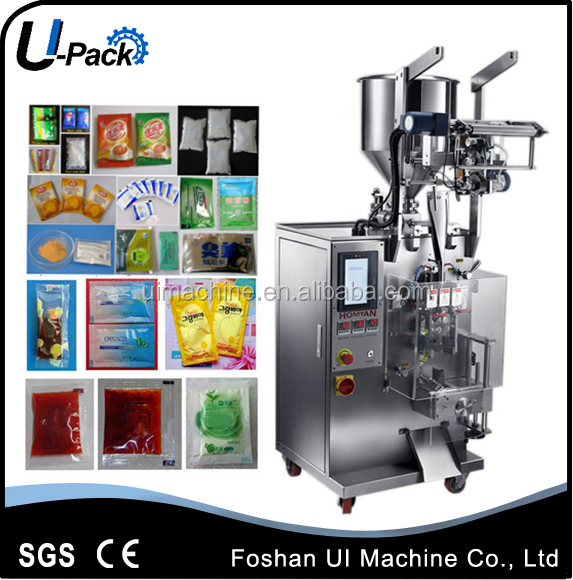 Automatic vegetable oil or refined edible oil small sachet packaging machine