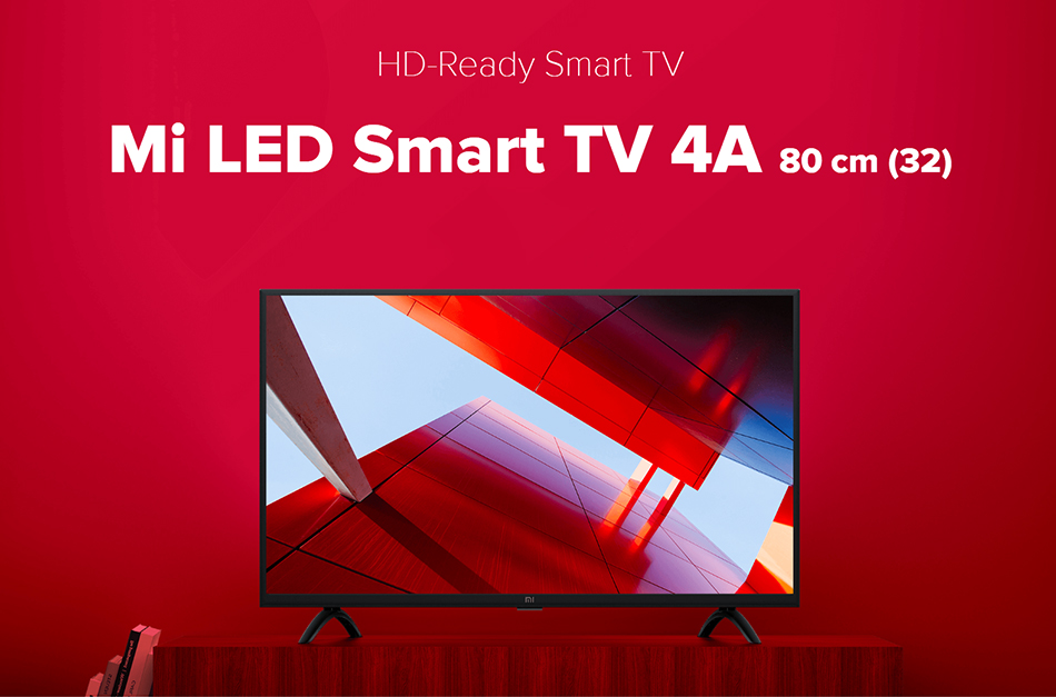Xiaomi Smart 4a 32 Inches 1366x768 Led Television Tv Set Wifi Miracast  Ultra-thin1gb Ram 4gb Rom Game Play Display - Buy Tv,Xiaomi Tv,Mi Tv  Product on