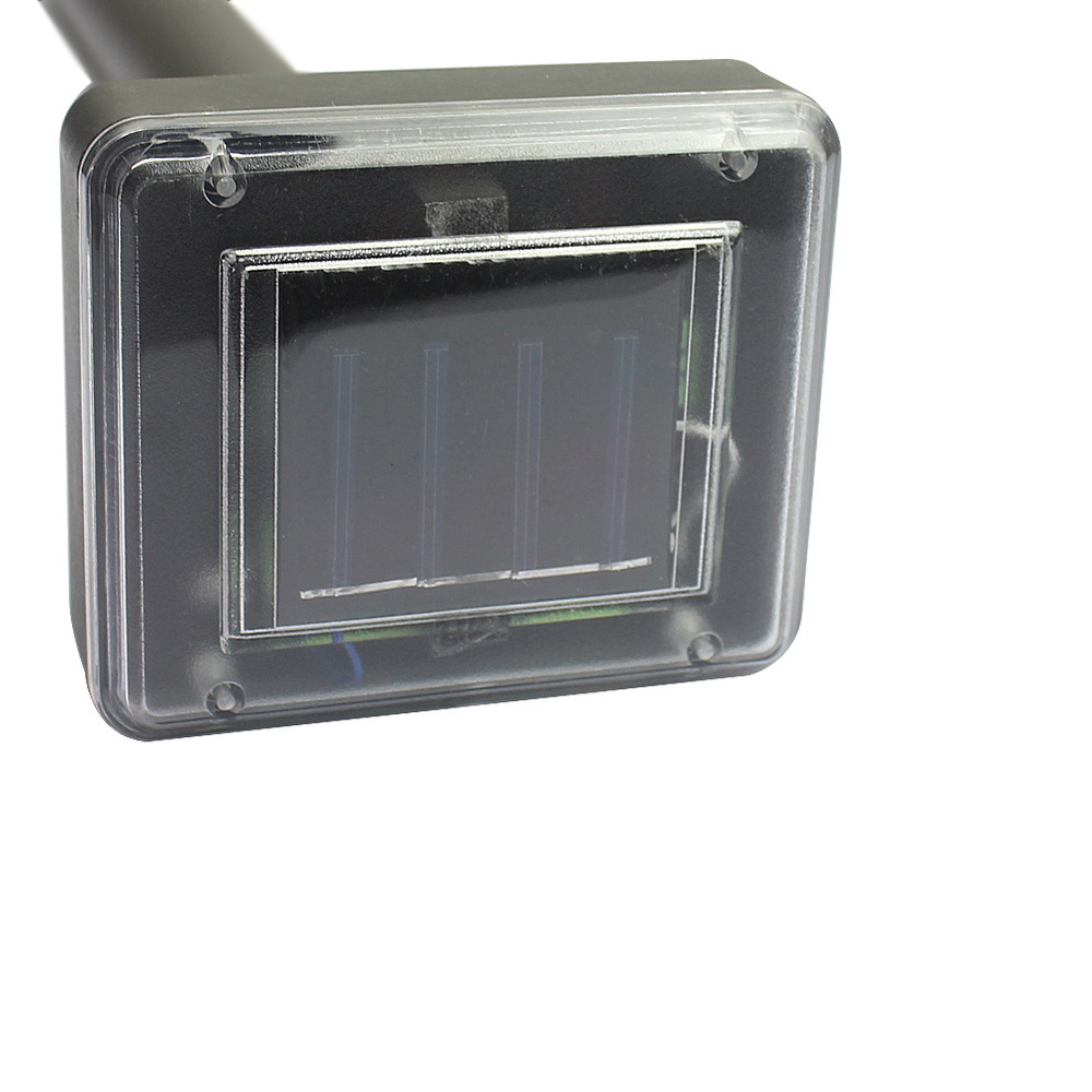 New protable outdoor solar post cap light use for garden