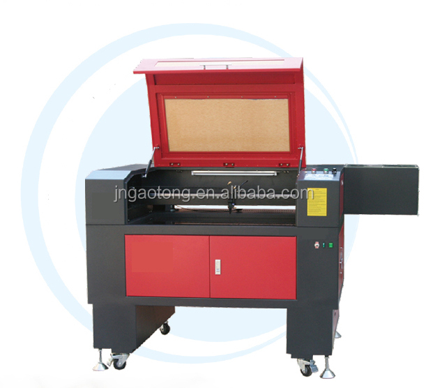 Precision manufacturer 6040 60W CO2 non metal material laser engraving machine