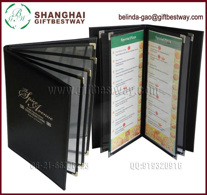 A4 Libro De Menú Para El Restaurante