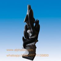 Customized Large Stone Abstract Garden Sculpture For Sale