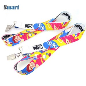 High quality cheap key lanyard imprint lanyards id neck strap Exporter