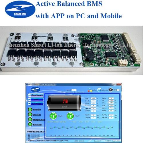 Active Bms 13s 60v 13s 48v Bms