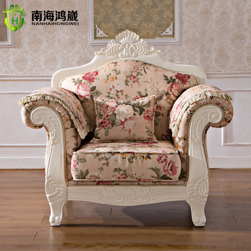 Luxury European French Style Living Room Salon Furniture I Shape