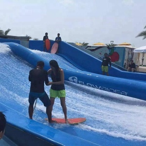 popular surfing wave pool for water park