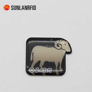 Access control NFC waterproof rfid irregular shape epoxy card for printing logo