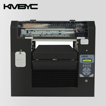 Factory price edible inkjet printing machine food machines KMBYC flatbed printer for cake bread