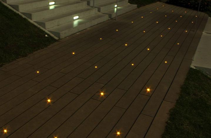 Outdoor Bridge Recessed Lighting Inground Light Ip67 Waterproof