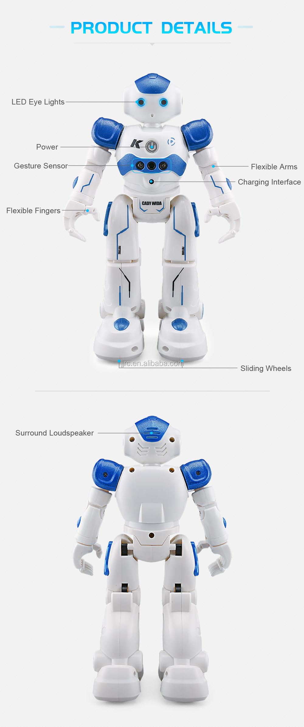 Jjrc R2 Smart Radio Control Intelligent Robot Dancing Sing Gesture