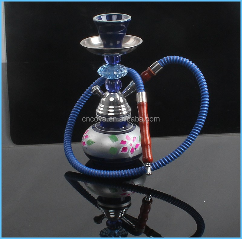 China wholesale smoking waterpipe glass hookah CS-068