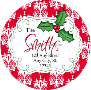 Christmas Decorate Customize all types Sticker label
