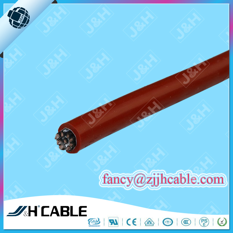 High Temperature Cable YGZ/YGZP/YGC/YGCP multicore cable Silicone Rubber Cable