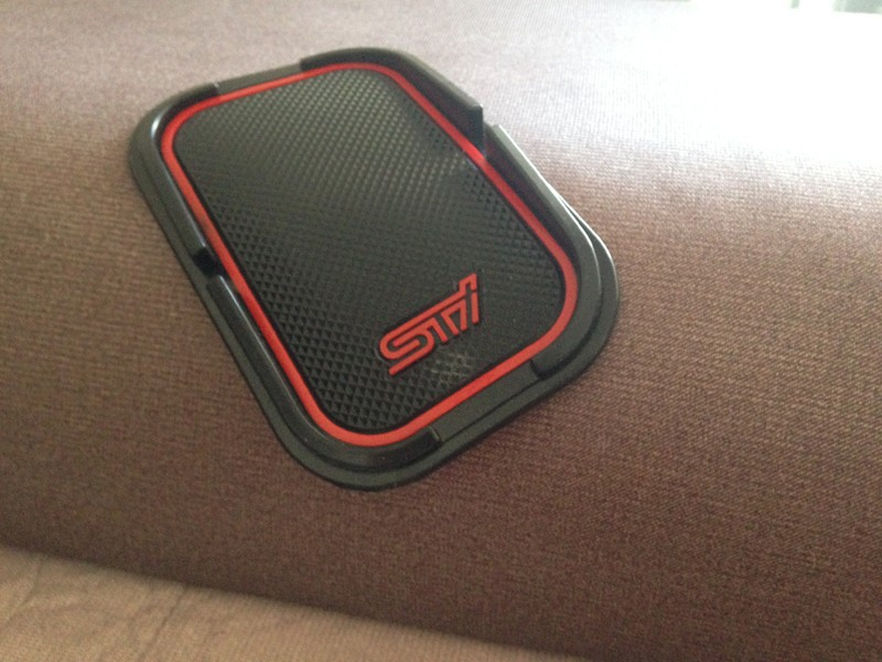 Car Interior Accessories Silicone Anti Slip Mats For