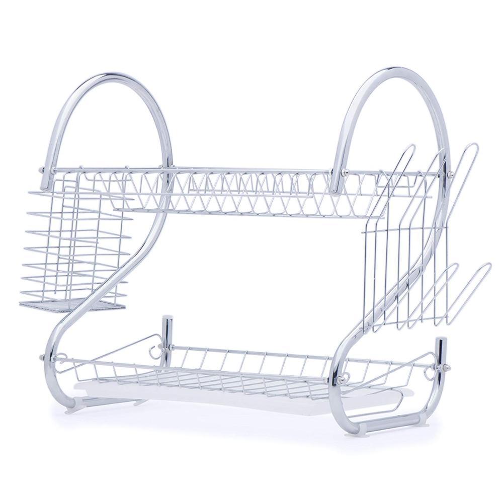 Fabrico de Alta Qualidade Pia Da Cozinha Escorredor de pratos De Metal Organizador Rack de Secagem Prato