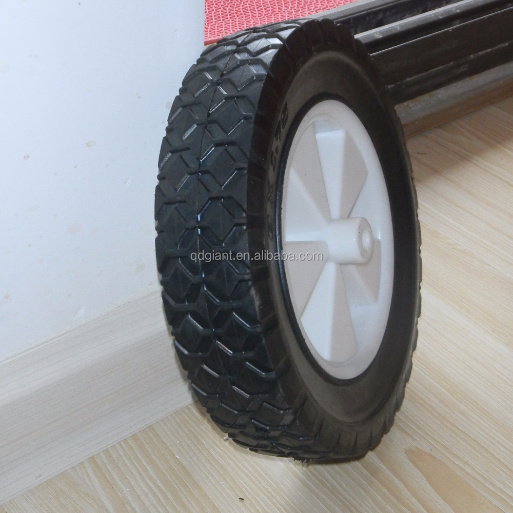 8 inch solid toy wagon wheels / tyre