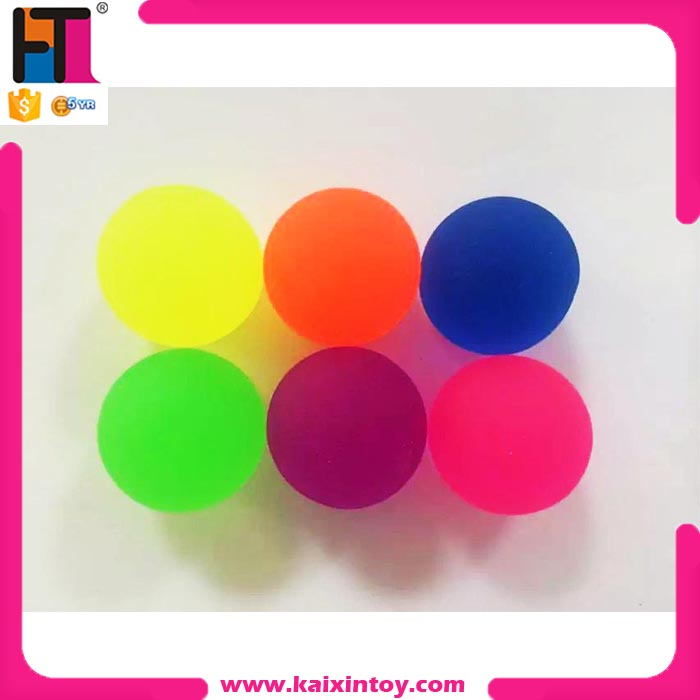 glow vending machine rubber bouncing balls