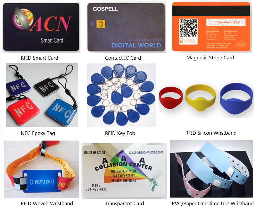 nfc tag epoxy mobile payment tag