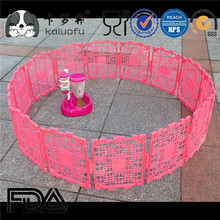 2 Panel Add-on Plastic Puppy and Dog Pet Playpen