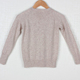 Guoou Knitwear Cashmere Wool Fabric Long Sleeve Woolen Sweater Designs For Kids