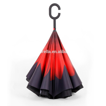 Long Handle C Hook Updown Side Umbrella