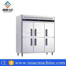 -8~5 Degree C 1600L Single Temperature Commercial Kitchen Refrigeration Fridge Keep Fresh Freezers