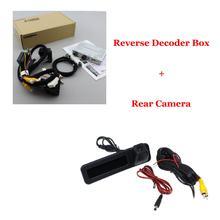 Автомобильная задняя камера заднего вида для BMW 5 F10 F11 F07 F18 G30 G31 G38 2010-2020 EVO оригинальная система обновления экрана декодер автомобильные аксе...(Китай)