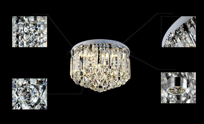 Slaapkamer Lamp Design : Kristal spot light taper ronde plafond lamp design voor woonkamer en
