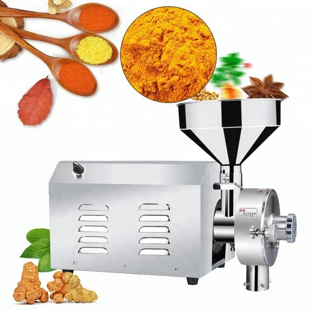 Commercial Rice/Wheat Flour Mill Grinding Machine